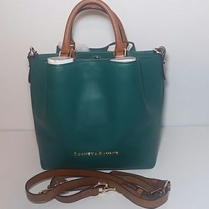 Dooney & Bourke Leaf Green City Barlow BAG NWT